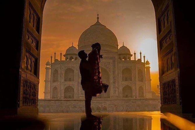 Taj Mahal Private Sunrise & Sunset Tour from Delhi
