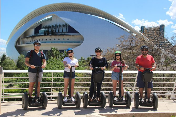 City of Arts and Sciences Private Segway Tour and rent E-Scooters for 24h