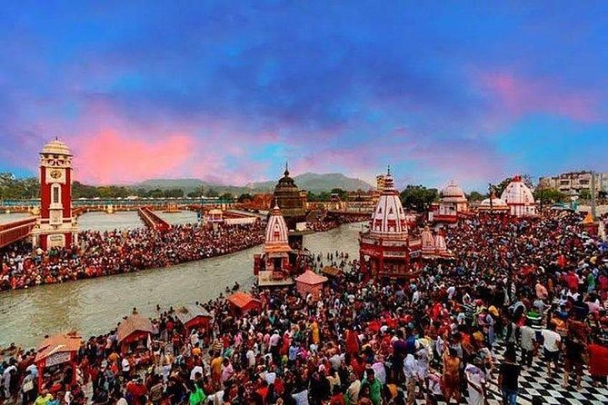 One Day Private Tour of Haridwar & Rishikesh