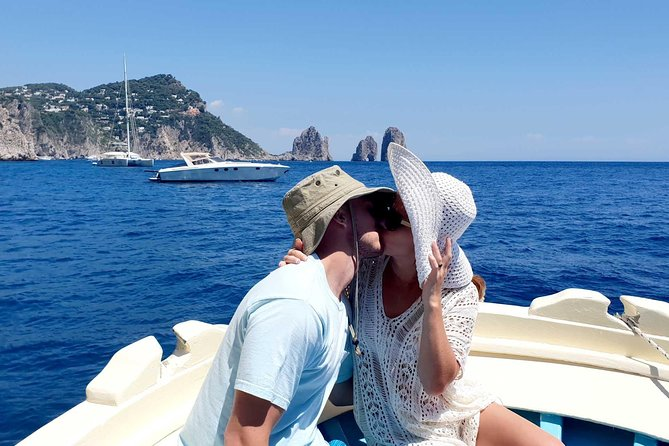 Authentic boat tour to Capri full day with lunch - Sharing tour from Sorrento
