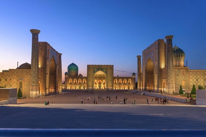 Samarkand Sightseeing Ride: Enjoy 8 Hours Private Taxi