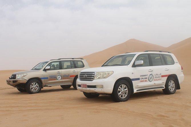 2 day tour & overnight stay in the Empty Quarter Al Khali Desert