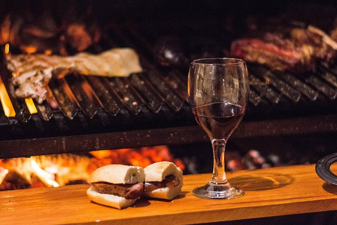 Argentine grill and luxury wines in a house in Recoleta.