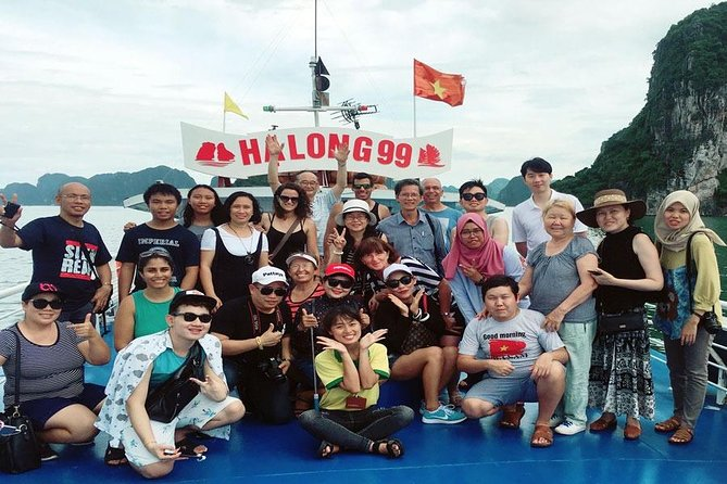Best Halal Tour in Halong Bay With Transfer From Hanoi & Kayak & Halal Lunch photo 2