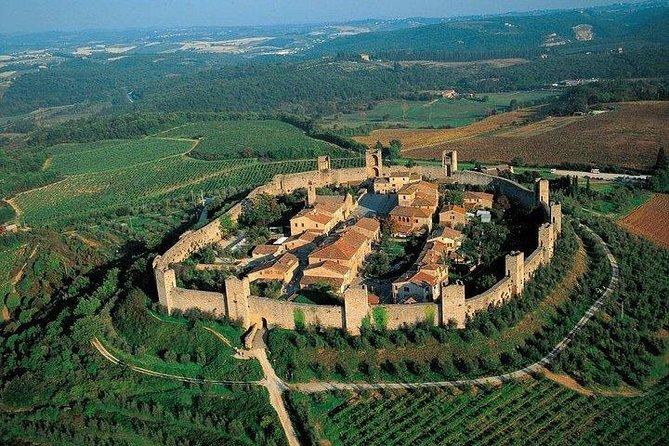 San Gimignano Monteriggioni Tuscany Chianti Wine Tasting Fullday from Florence