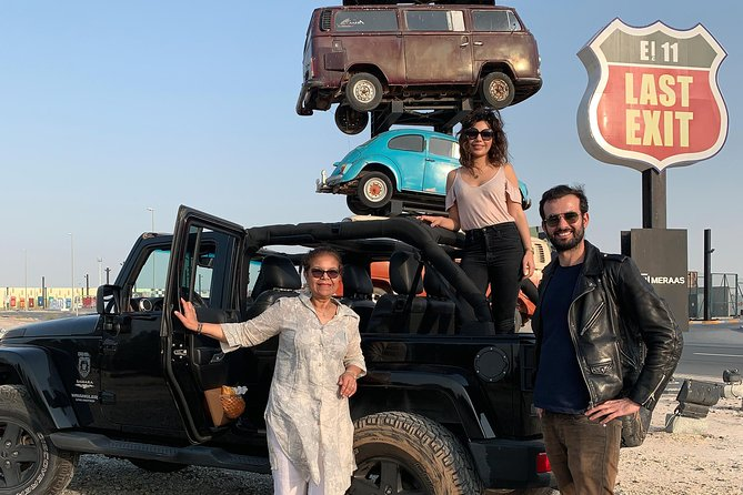 Live The Jeep Experience : Private Dubai Hotspots Sightseeing Tour