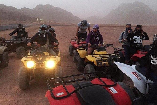 From Hurghada:7 hour desert safari by Quad bike