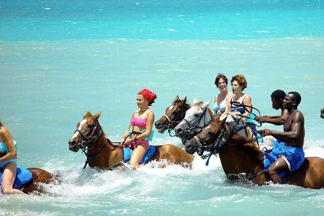 Ocho Rios Action Pack Water Excursion (Blue Hole, Tubing & Horseback Riding)