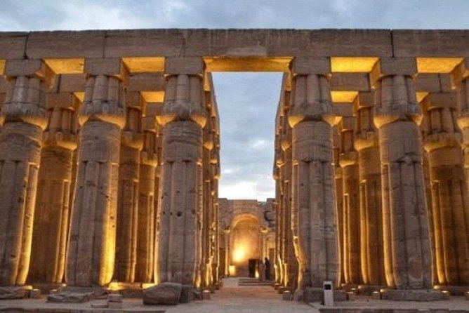 Private trip from Hurghada to Luxor, east and west and lunch and camel