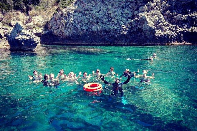 Snorkeling tour coast to coast Taormina & Isola Bella