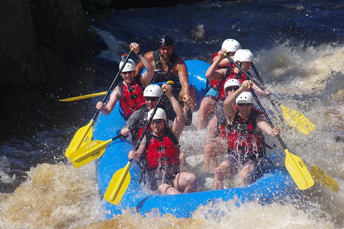 Pier's Gorge is where the action is. You'll experience the largest rapids in the Midwest!