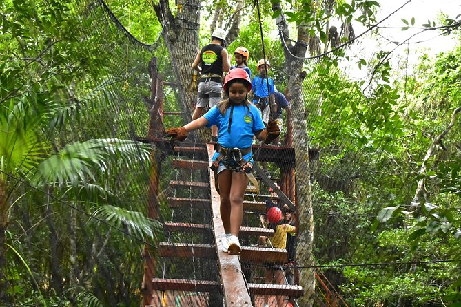 Zipline Adventure from Cancun with Transportation included