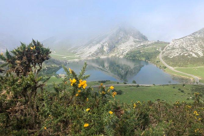 Covadonga Lakes Tour entire journey . Cangas de Onis Covadonga Sanctuary
