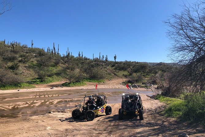 2 Person Guided U-Drive ATV Sand Buggy Tour Scottsdale/Phoenix photo 15