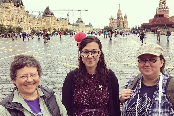 Red square and Saint Basil's cathedral tour