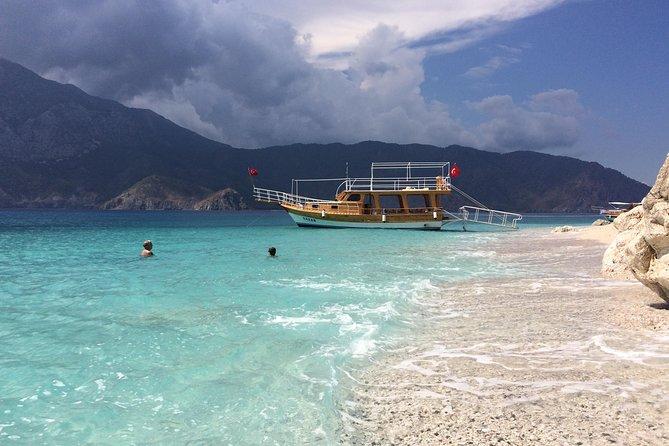 Boat trip from Adrasan to Suluada island, Antalya region