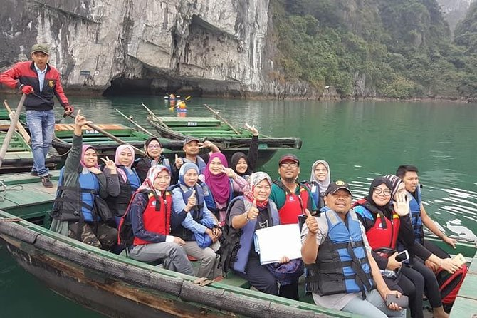Best Halal Tour in Halong Bay With Transfer From Hanoi & Kayak & Halal Lunch