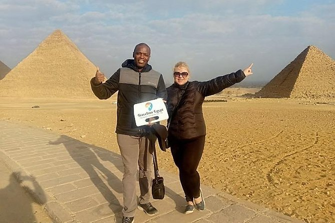 Explore the Pyramids of Giza, Sakkara and Memphis.Private Tour with Lunch.
