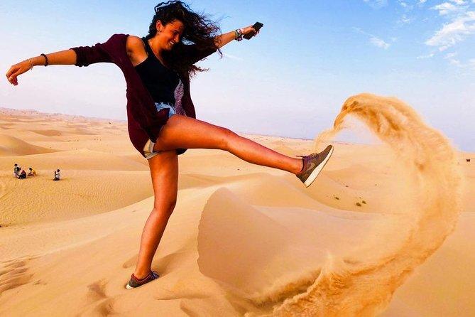 Sunset Desert Safari by Quad Runner & Camel Ride