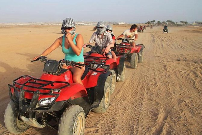 Private Budget Desert Tour with Car Buggy in Hurghada