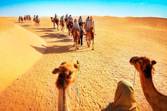 7 Hour: Jeep Safari, Camel Ride & Bedouin Village Sahara Tour from Hurghada