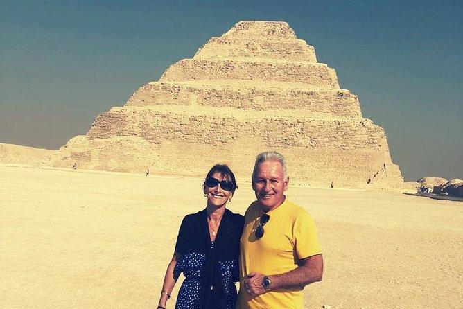 Pyramids, Sakkara and Dahshur Day Tour