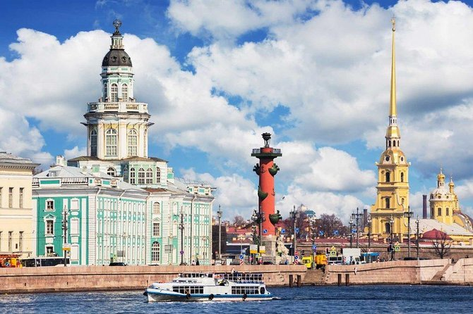 Private Tour Vasilievsky Island with Hotel Pick Up