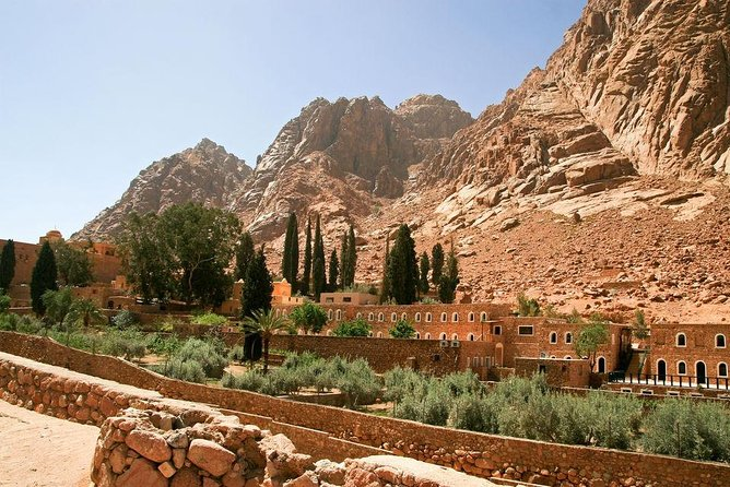 From Cairo: a day to Sharm El-Sheikh Monastery of Saint Catherine