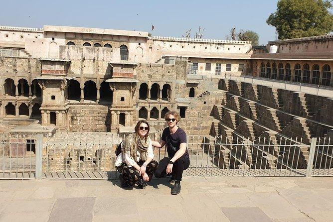 Jaipur Abhaneri Step Well Same Day Tour
