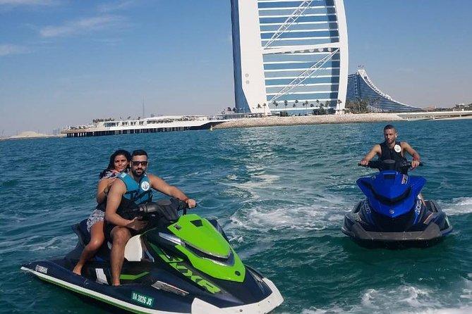 2hrs jetski in burj al arab,marina,atlantis and dubai eye and burj khalifa view