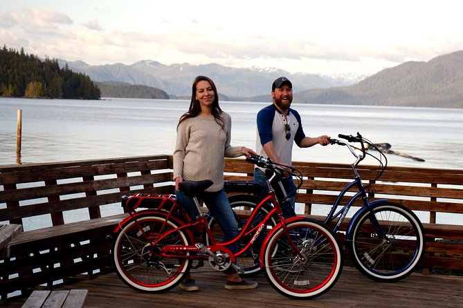 Ketchikan Electric Bike and Rain Forest Hike Ecotour