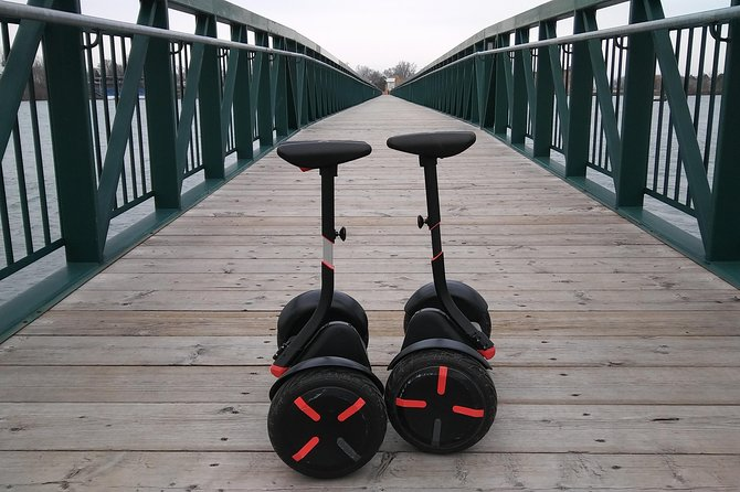 Segway miniPRO ride through Port Dalhousie parks