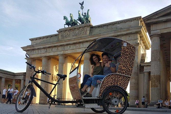 """Berlin Rickshaw Tour """"Groups up to 16 people with multiple rickshaws"""""""