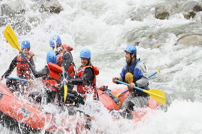 Amazing White Water Rafting and Bali Swing Experience
