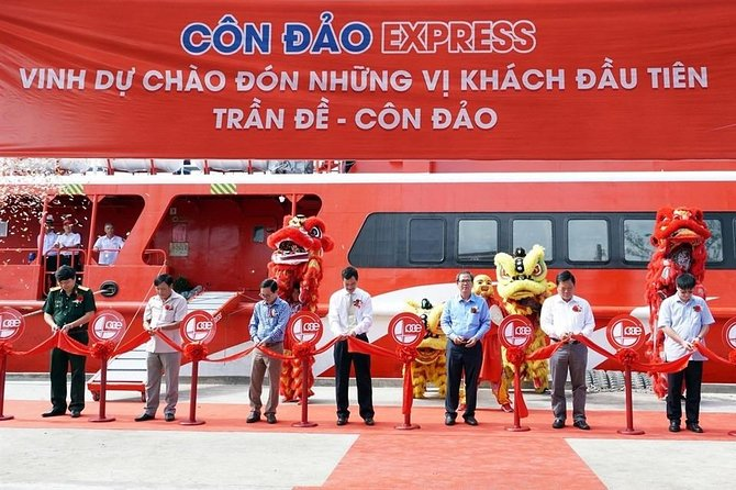 Ferry tickets from Con Dao to Vung Tau by Con Dao Express photo 2