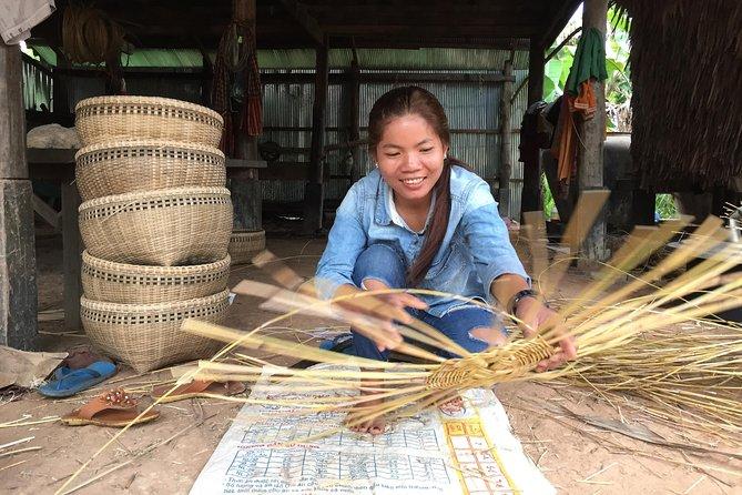 Rattan Busket Weaving