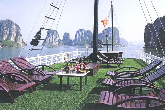 Ha Long bay full day tour (6 hours in bay, transfer via express highway) photo 2