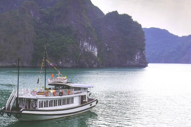 Ha Long bay full day tour (6 hours in bay, transfer via express highway) photo 14
