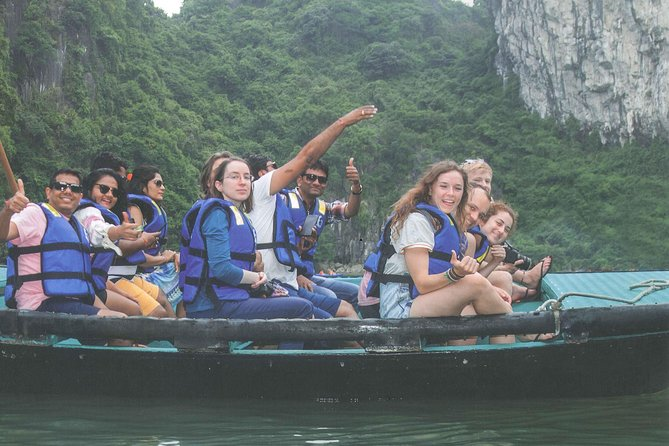 Ha Long bay full day tour (6 hours in bay, transfer via express highway) photo 6