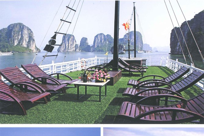 Ha Long bay full day tour (6 hours in bay, transfer via express highway) photo 9