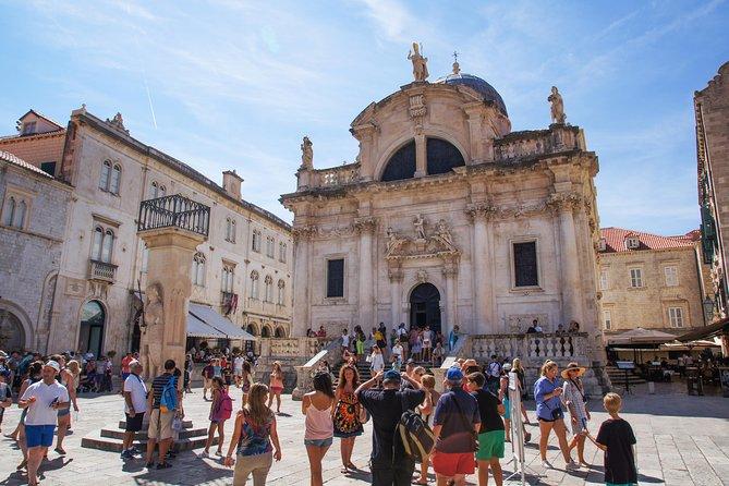From Makarska Riviera: Explore Dubrovnik Town in Sunset