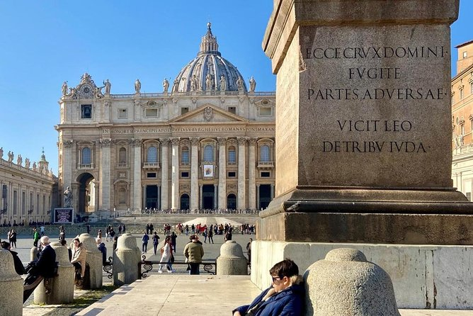 Skip the Line: St. Peter's Basilica Express Entry with Assistance