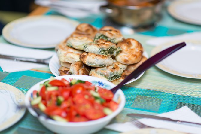 Traditional Balkan Burek cooking class and dinner in Prague for small groups
