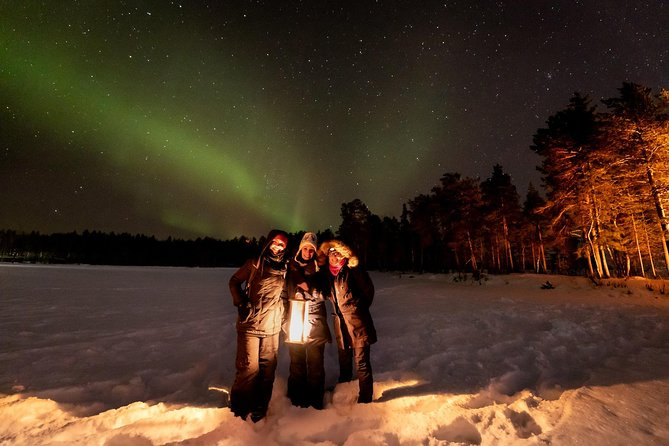 Arctic Circle: Special Northern Lights Hunting Tour by minibus