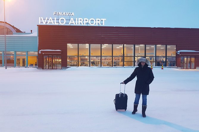 Ivalo Airport - Hotel - City Transfer