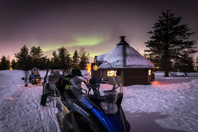 Aurora Borealis Snowmobile Safari & Bbq