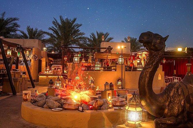 Private Red Dune Desert Safari with Extensive Bab al shams Dinner