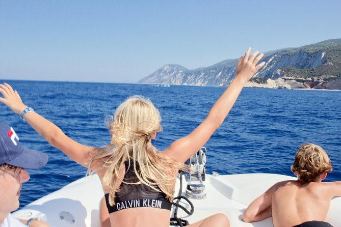 Original Full day Boat Tour to Lefkada beaches and the islands