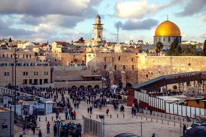Private Airport Transfer: Ben Gurion International Airport (TLV) to Jerusalem
