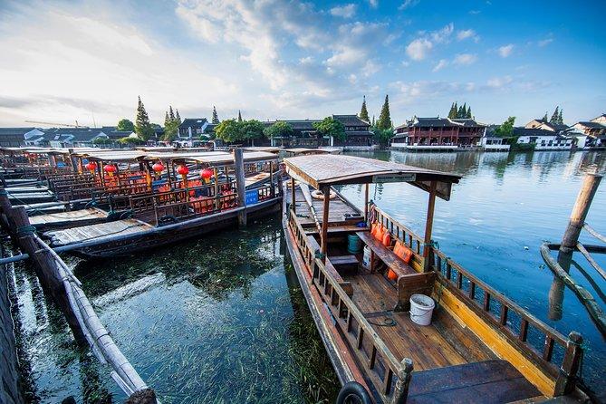 Zhujiajiao Water Town and Highlights of Shanghai City-Group Tour